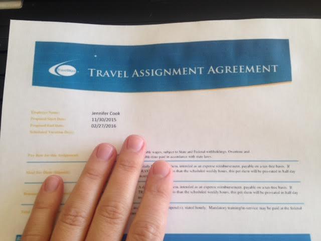 travelingassignment